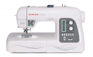 SINGERFutura XL-550Embroidery and Sewing Machine, Including 125 Embroidery Designs