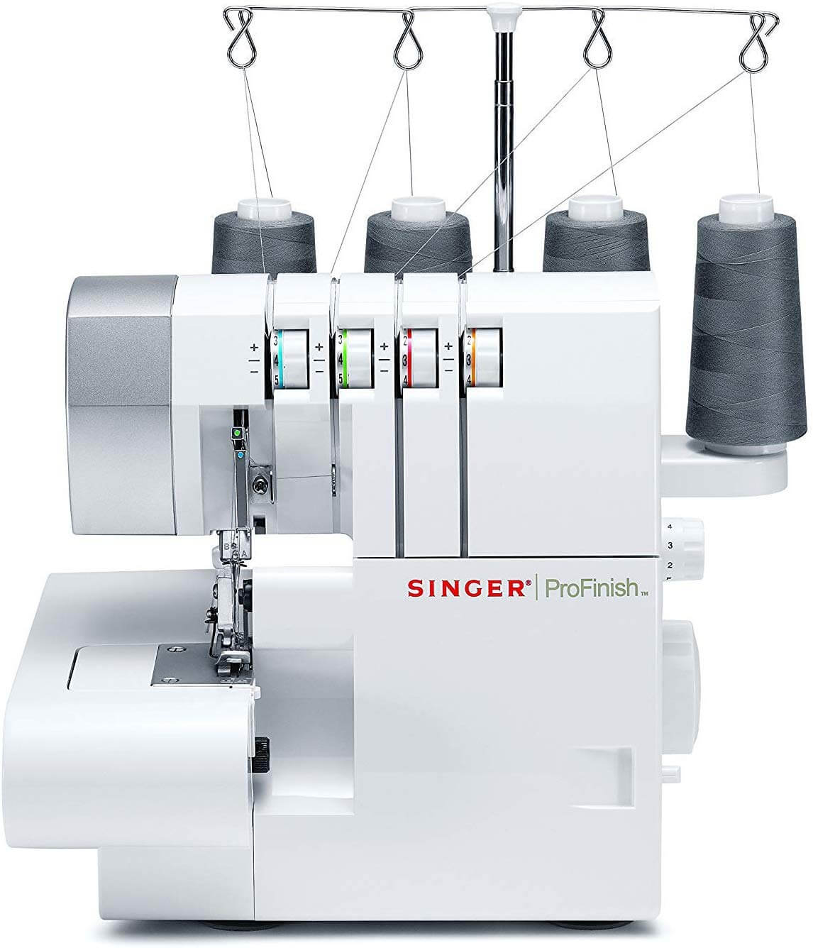 Singer 14CG754 Serger 2-3-4 Thread Capability Overlock with Blind