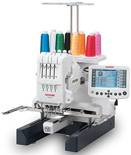 Janome MB 4S Four Needle Embroidery Machine with included Hat Hoop
