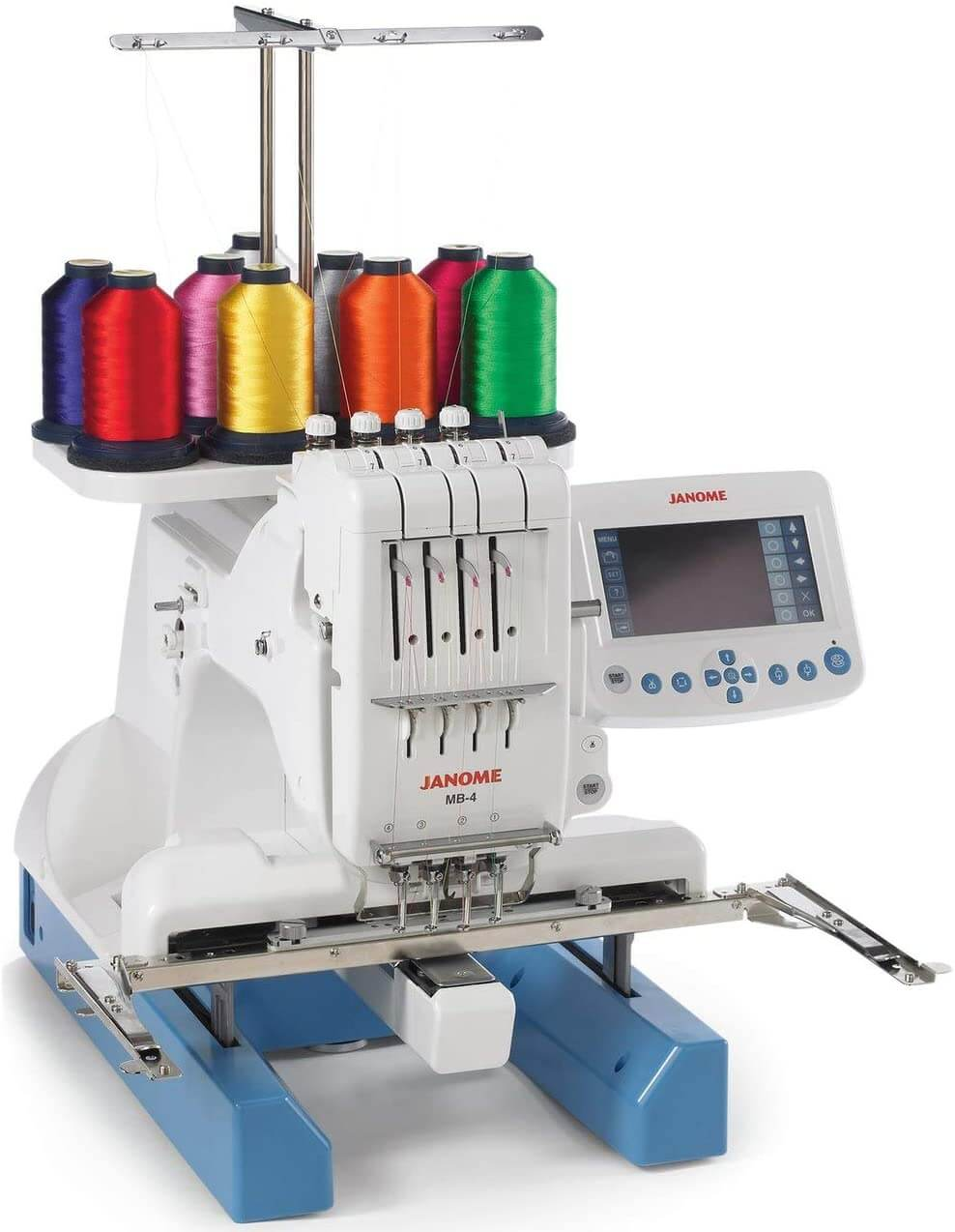 Janome MB-4N Four Needle Industrial Embroidery Machine